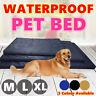 M L XL Soft Waterproof Pet Bed Mattress Dog Cat Pad Mat Cushion Pillow Large
