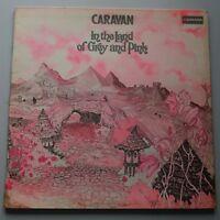 Caravan - In the Land of Grey & Pink Vinyl Album LP UK 2nd Press 1971 Prog