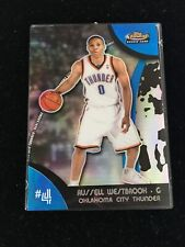 RUSSELL WESTBROOK 07-08 Topps Finest BLUE REFRACTOR Rookie #104 X RC /199 Rocket