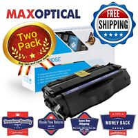 Max Optical 2Pack For HP Q5949X High Yield Compatible Black Toner Cartridge