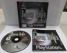 Console Game Gioco SONY Playstation PSOne PSX Anime PAL ps1 VAMPIRE HUNTER D
