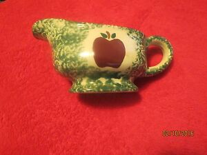 country designs 2 piece gravy boat and plate