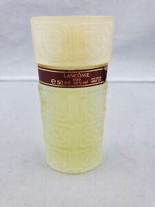 Vintage Lancome Paris Eau De Toilette Splash Perfume Bottle - Full - 50ml 1.7oz