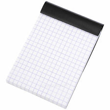 Rhodia Negro A7 5/5 de cuadrícula Bolsillo Papel Bloc De Notas Diario Memo Libro Matemáticas Pad