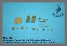 1/35th MR Models German Opel Blitz Bus Ludewig W39 Pioneer tools and accessories