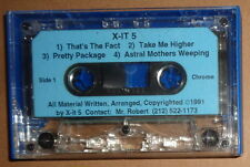 X-IT 5 - Rare Demo Cassette 1991 - Metal : That's the Fact; Take Me Higher ...