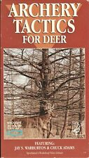 Archery Tactics For Deer - Hunting Vhs Video with Jay S Warburton & Chuck Adams