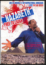 NAZARETH FREE TO LAUGH LIVE! IN SAN DIEGO COMEDY DVD FREE SHIP TO USA
