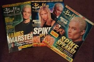 Buffy the Vampire Slayer Magazines - James Marsters Exclusive Interviews