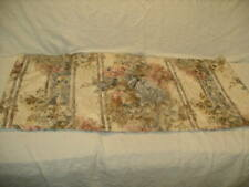 EUC JC Penney Duchess Rose and Smoke Blue Floral Tailored Valance!