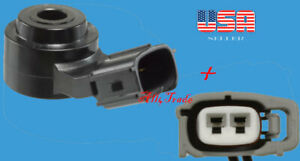 Ignition Knock Sensor with connector Fit:  Lexus Mercedes Pontiac Scion Toyota