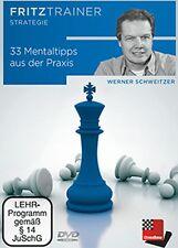 ChessBase: Schweitzer - 33 Mentaltipps aus der Praxis - NEU