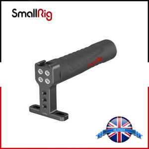 SmallRig Universal Top Handle (Rubber) with a cold shoe for Camera Cage - 1446B