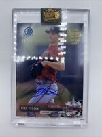 2021 Topps Archives Signature Series Mike Soroka /21 BCP5 On Card Auto