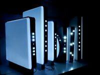 LED Leuchtkasten Einseitig + zweiseitig Licht Innovation Europa Neuheiten mit FB