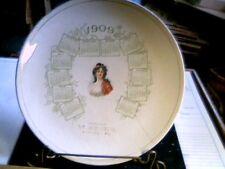 New listing 1909 Rockville Md calendar plate antique vintage old Hicks