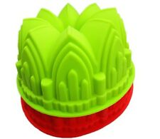 1 PC Castle Crown Bake  Pan Silicone Cake Mould DIY Baking Mold Tools