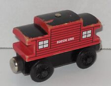 2003 Gullane Thomas & Friends Wooden Sodor Line Caboose Learning Curve