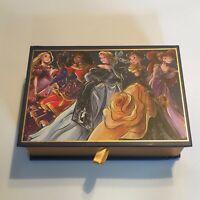 NEW Disney Designer Collection Midnight Masquerade Series Stationery Set