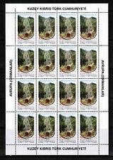 UNMOUNTED MINT 2011 EUROPA STAMPS SHEETLETS TURKISH CYPRUS