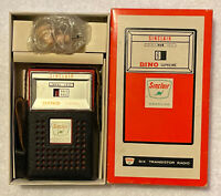Vintage Sinclair Oil Company Six Transistor Radio - Made In Hong Kong