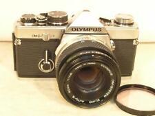 Olympus OM-2N 35mm SLR Camera With 50mm F1.8 Zuiko Auto-S Lens