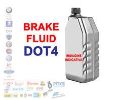OLIO LIQUIDO FLUIDO FRENI BRAKE FLUID DOT 4 AUTO MOTO 1 LT