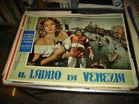 IL LADRO DI VENEZIA fotobusta originale 1951 MONTEZ SERATO CHRISTIAN