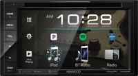 """KENWOOD DDX26BT 6.2"""" DOUBLE DIN TOUCHSCREEN CAR STEREO DVD BLUETOOTH STEREO"""