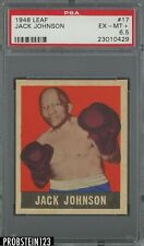 1948 Leaf Boxing #17 Jack Johnson PSA 6.5 EX-MT+