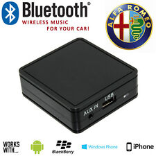 Alfa Romeo Bluetooth iPhone Aux In Music Interface Adaptor For Smartphones
