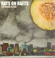 RATS on RAFTS The Moon is Big LP NEW SEALED 2012 Dutch New Wave NEDERPOP
