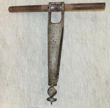 Antique Auger Bit Bung Hole Bore Coopers Tool Wooden Barrel