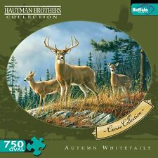 Buffalo Games Hautman Brothers Overal Cameo Autumn Whitetail Puzzle 750 PC - NEW