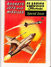 Classics ILL Spec Ed 159A: (1960): Rockets, Jets and Missiles:Free to combine:VG
