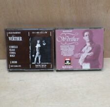 Massenet Werther 2 Recordings Franco Corelli New York 1972 + Georges Thill 1931