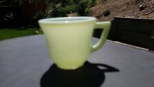 Lime Green Platonite Child Cup by Hazel Atlas (Chip)