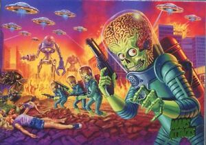 Mars Attacks Invasion Complete 95 Card Base Set