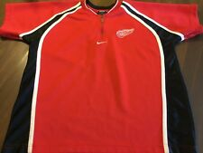 DETROIT RED WINGS  NHL   JERSEY  BY NIKE / NHL   SIZE KID'S M 12-14