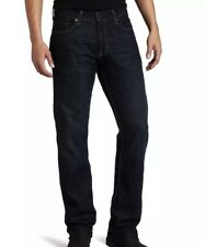 New Levi's Men's 514 Straight Fit 2-Way Comfort Stretch Jean 36x32 Dark Wash