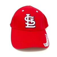 New St. Louis Cardinals MLB Adjustable Red Blue White Logo Baseball Cap Dad Hat