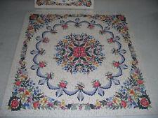 "SPRINGBOK 500 piece puzzle, ""Paradise Garden Quilt"", complete as shown"