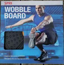 "Spri Wobble Board Balance Trainer 14"" Platform Fitness Exercise Equipment New"