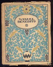 ARTE ESPAÑOL - Manuel Benedito por Jose Frances - 1º Ed