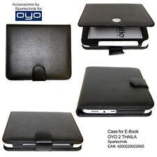 Caso para OYO 2 EBOOK FUNDA cuero artificial Thalia Bol Medion Life P6212 negro