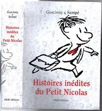HISTOIRES INEDITES DU PETIT NICOLAS # GOSCINNY & SEMPE # 2004 #
