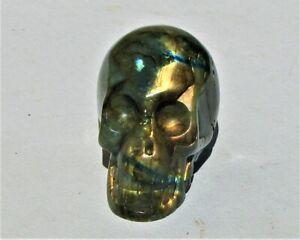 Large Carved Labradorite Skull (LSK35)