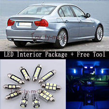 Error Free Blue Car Interior Light Package 16x for BMW 3'S E90 E91 E92 +TOOL Y2