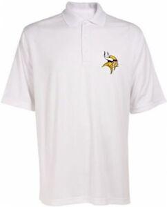 Minnesota Vikings NFL Team Apparel Dri Fit Polo Golf Shirt Big & Tall Sizes