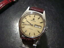 Orologio  ZENITH   Automatic DayDate -1970c.a. - Good Condition - Vintage Watch